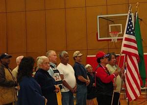 Veterans at Nespelem School