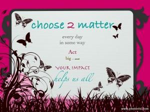 choose2mattersrepink